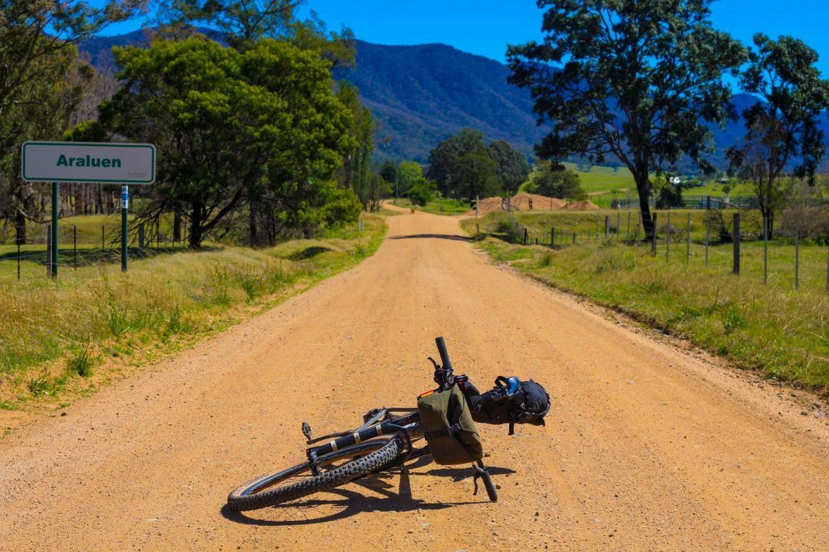 cycling from Canberra to the Coast, via Araluen Valley