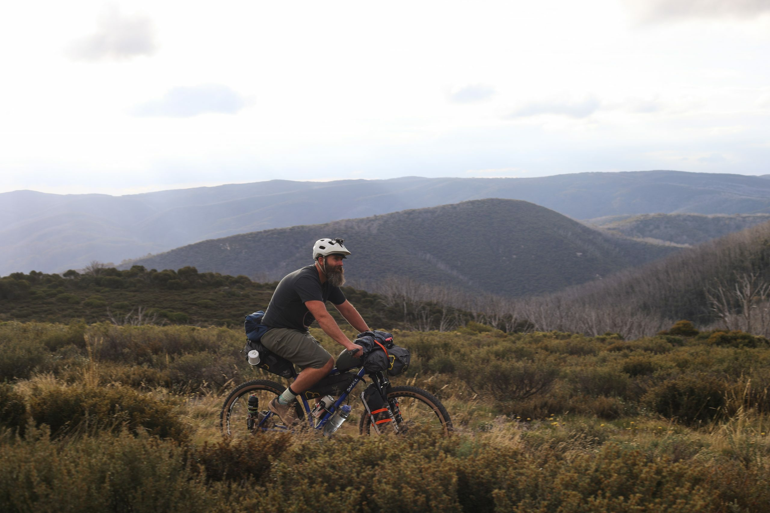Bikepacking to Valentine Hut by Mattie Gould