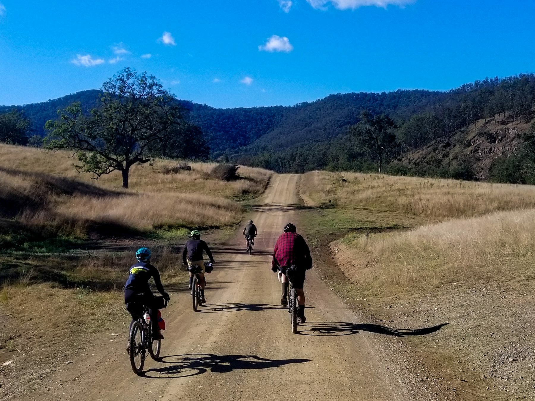 Gravel roads of the Nymboida Cycle Trail