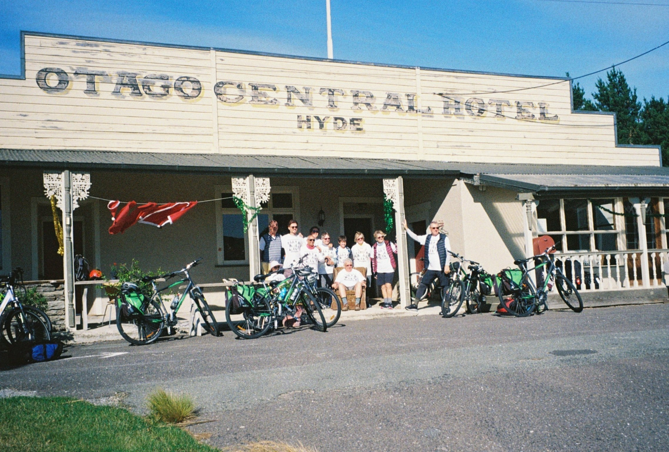 The Otago Central Hotel in Hyde, on the Central Otago Rail Trail