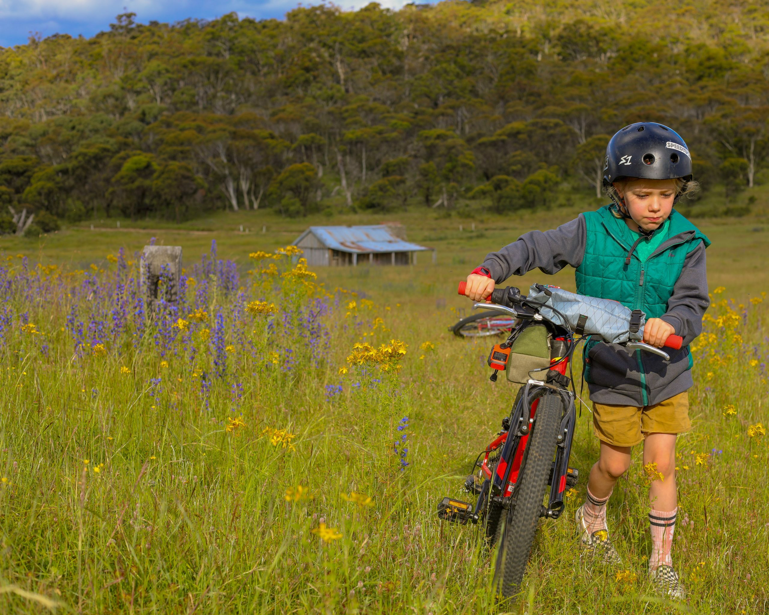 Bikepacking with a six year old by Mattie Gould