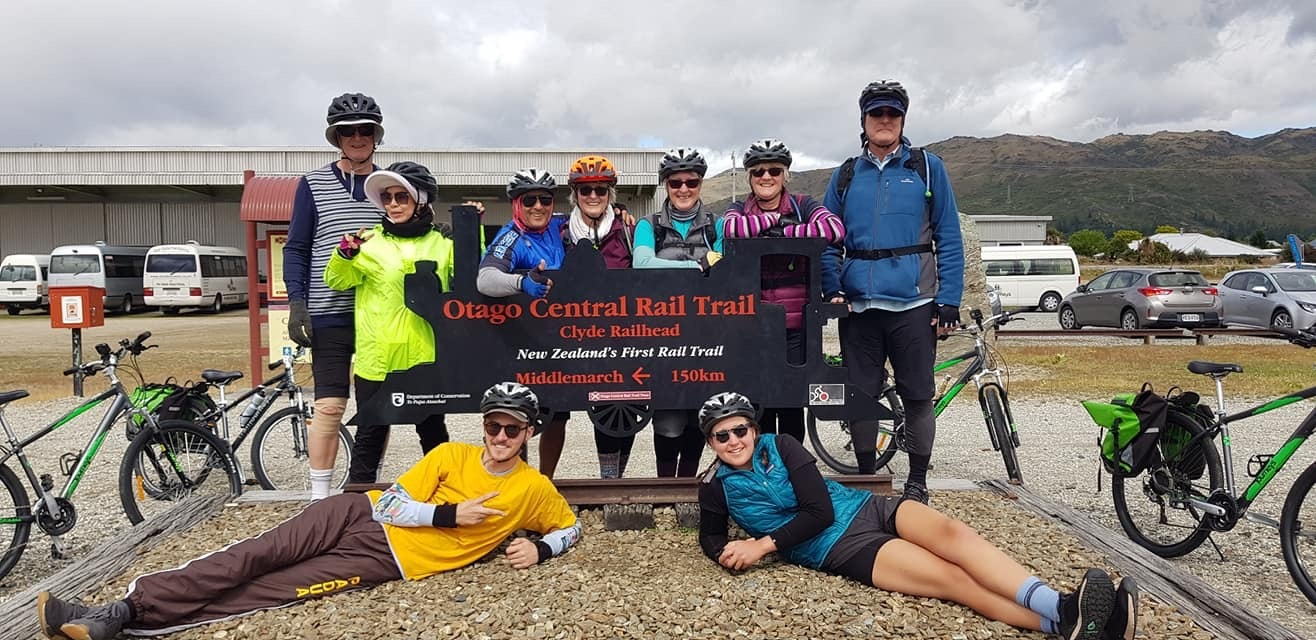 The Start of the Central Otago Rail Trail