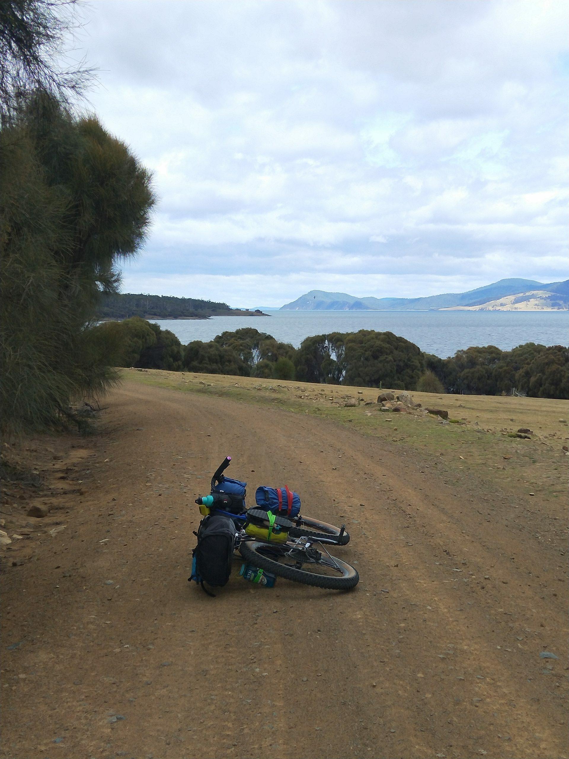 Bikepacking Maria island