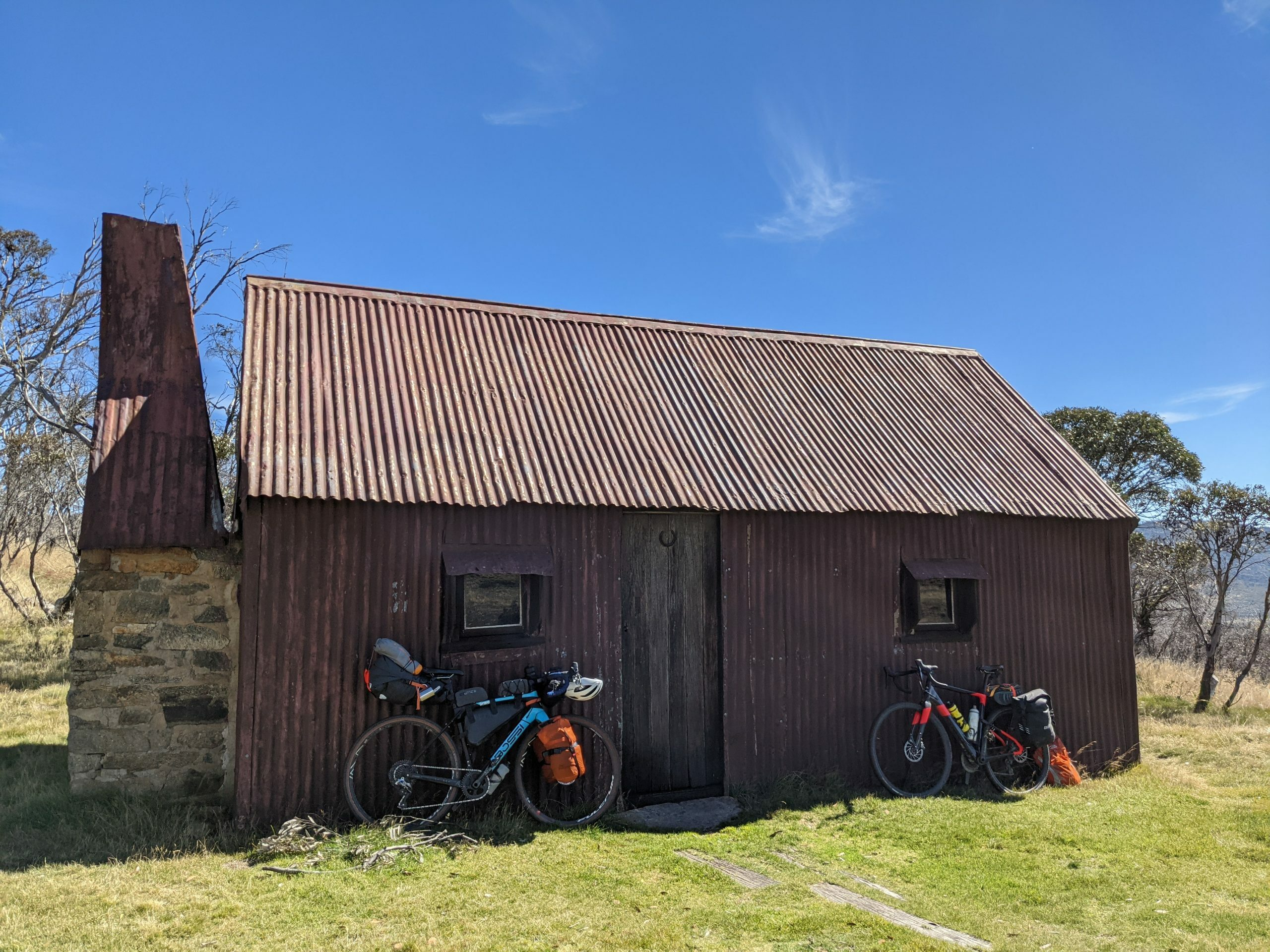 Easter bikepacking to Cesjacks Hut