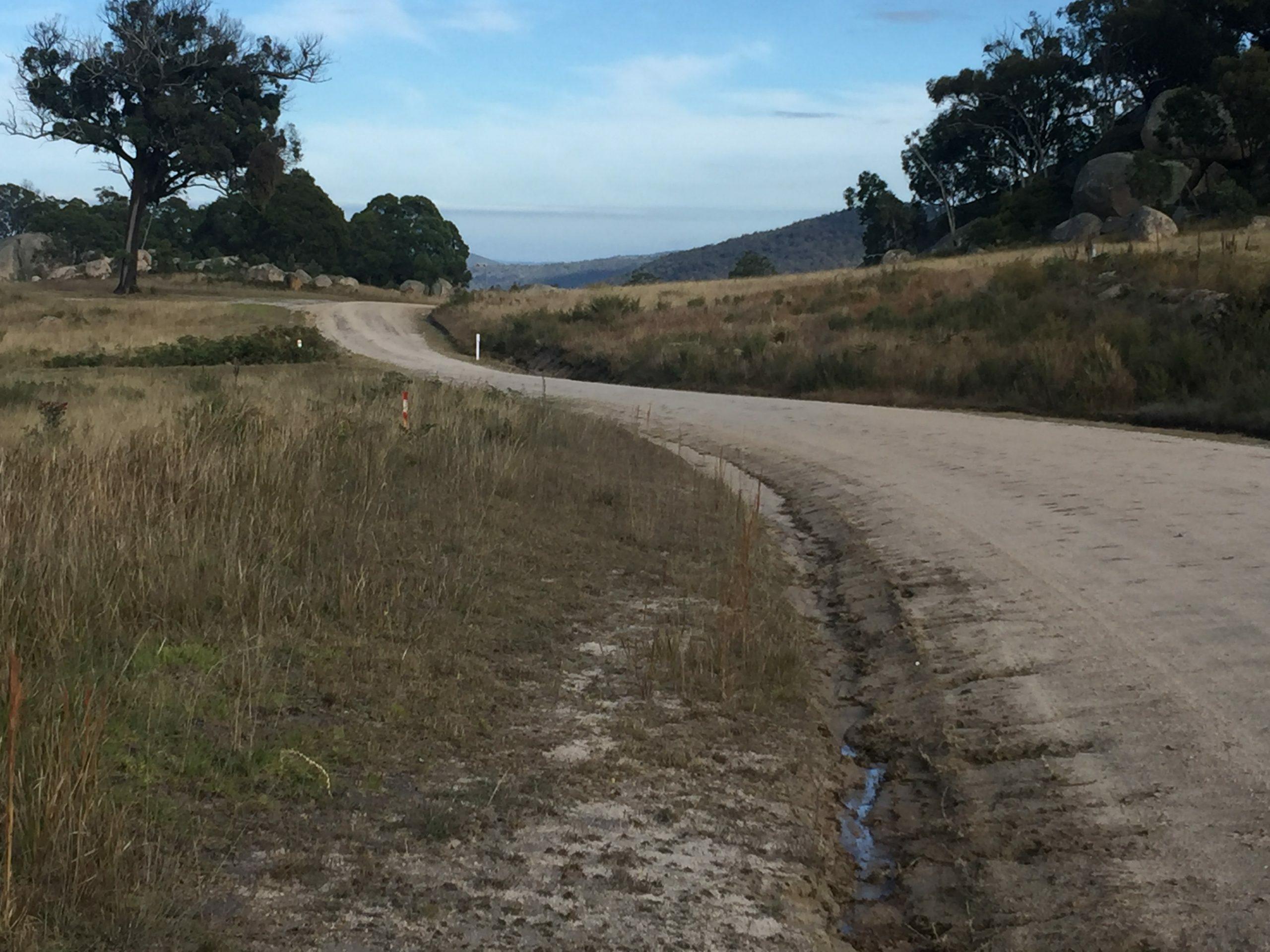 Part of the route for gravel n granite