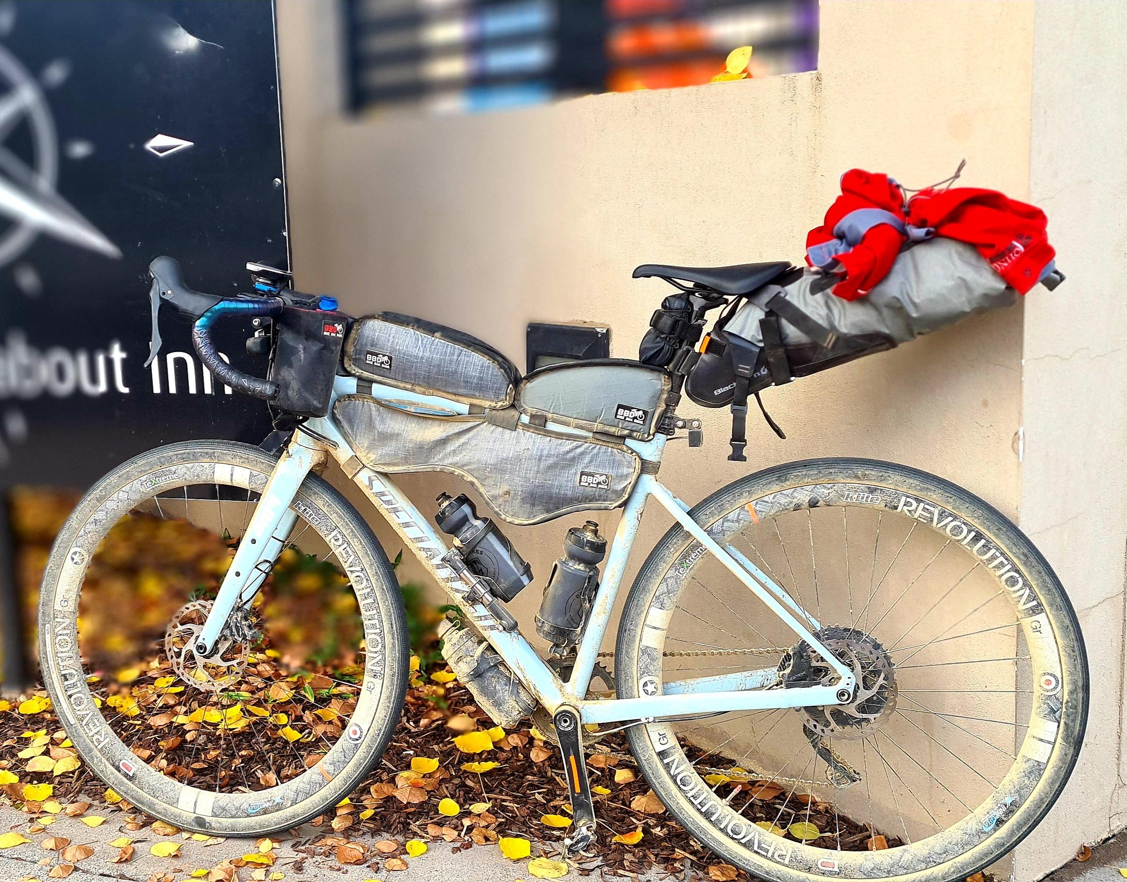Bikepacking bike setup for the Barrington Coast 500
