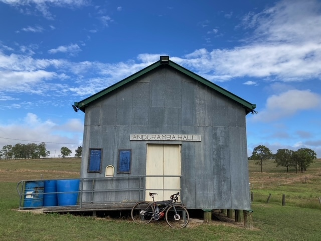 Anduramba Hall on the brisdivide mini bikepacking event