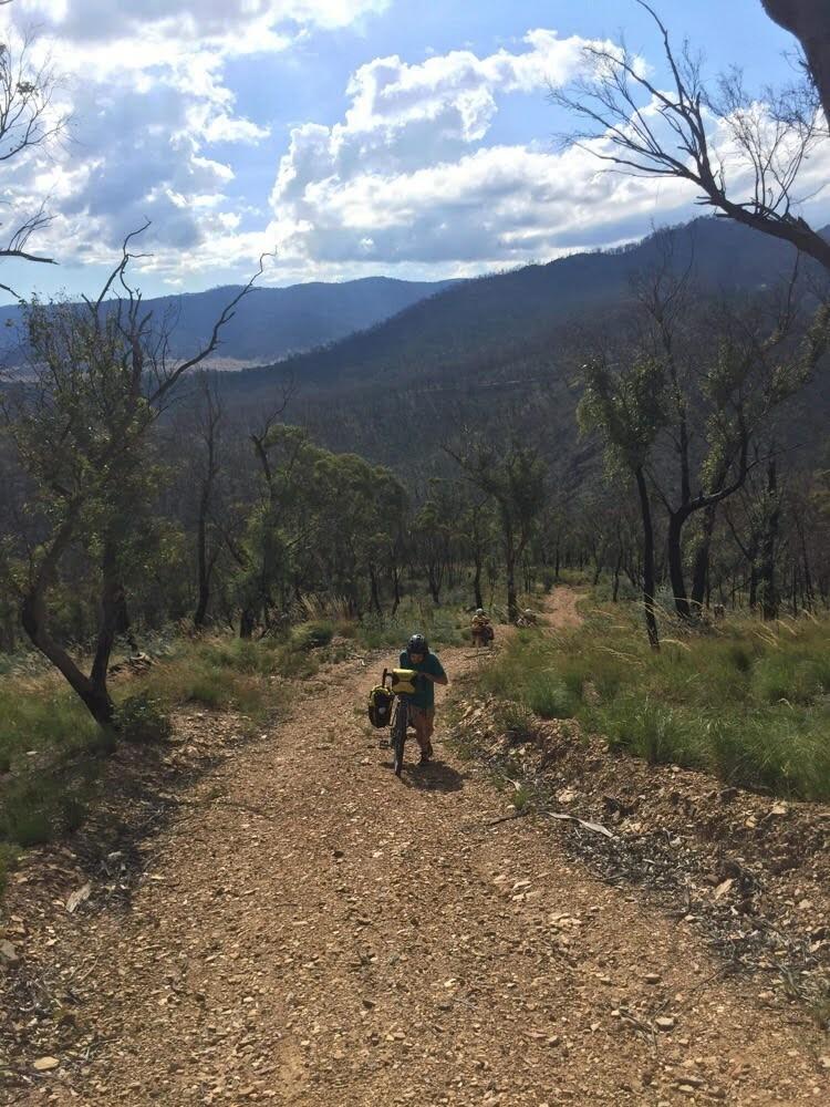 Hike a bike memory from @c_ateb