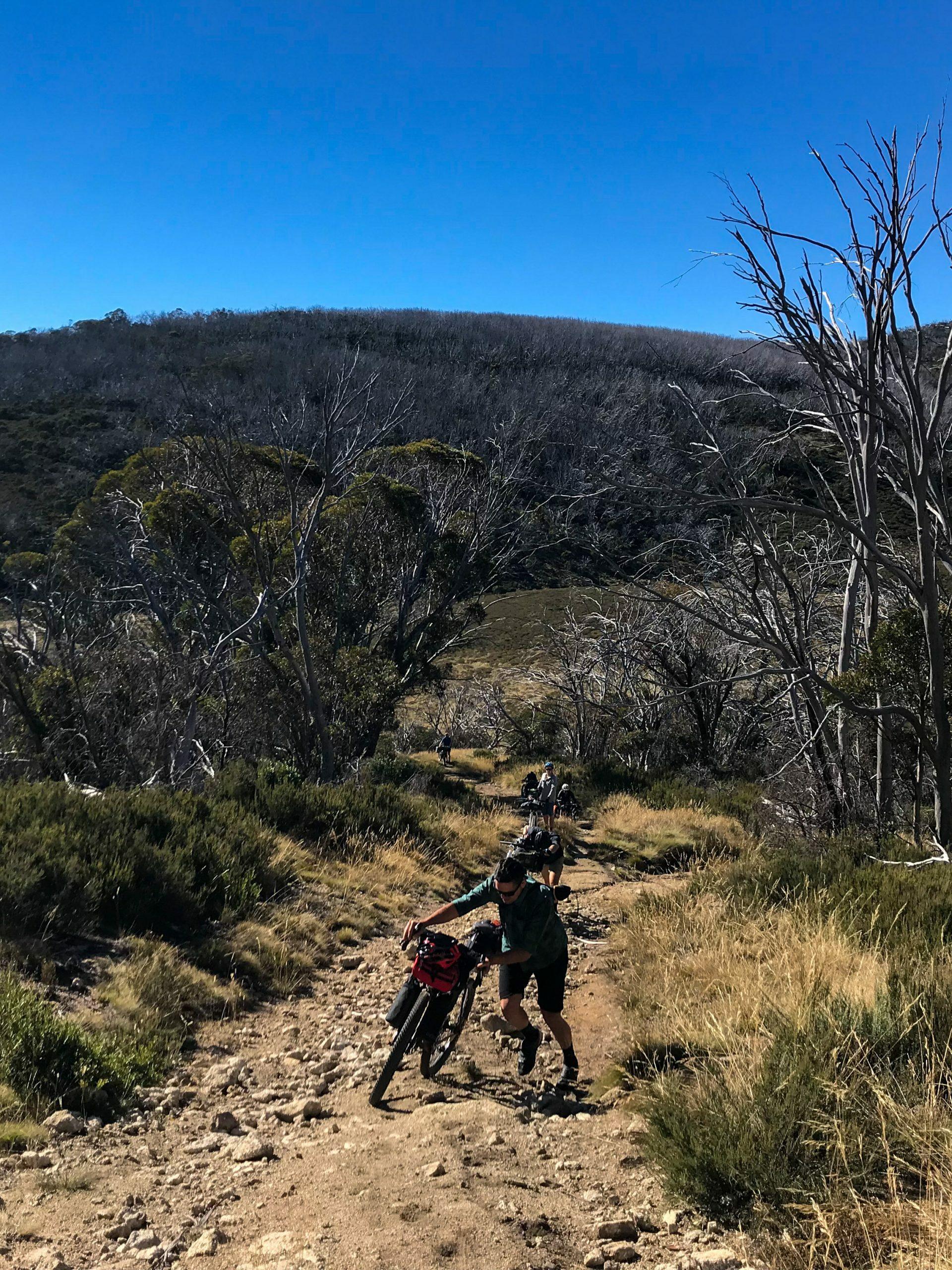 Hike a bike in the Jagungal Wilderness