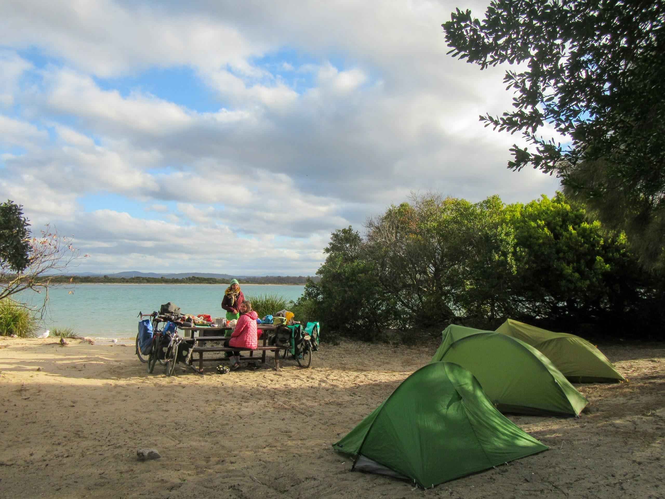Bakers Beach camp