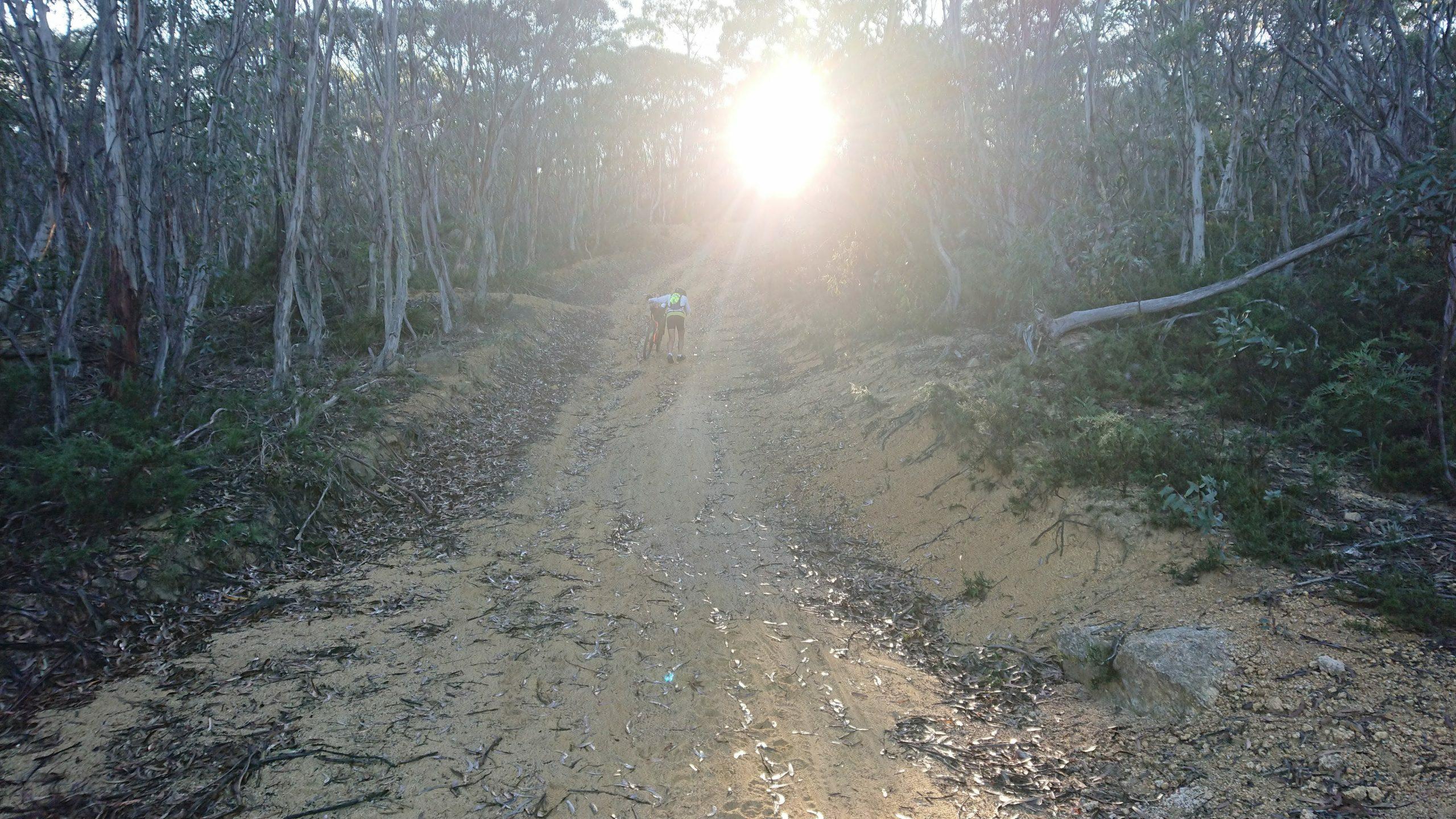Hike a bike memory from Jonathan Milford