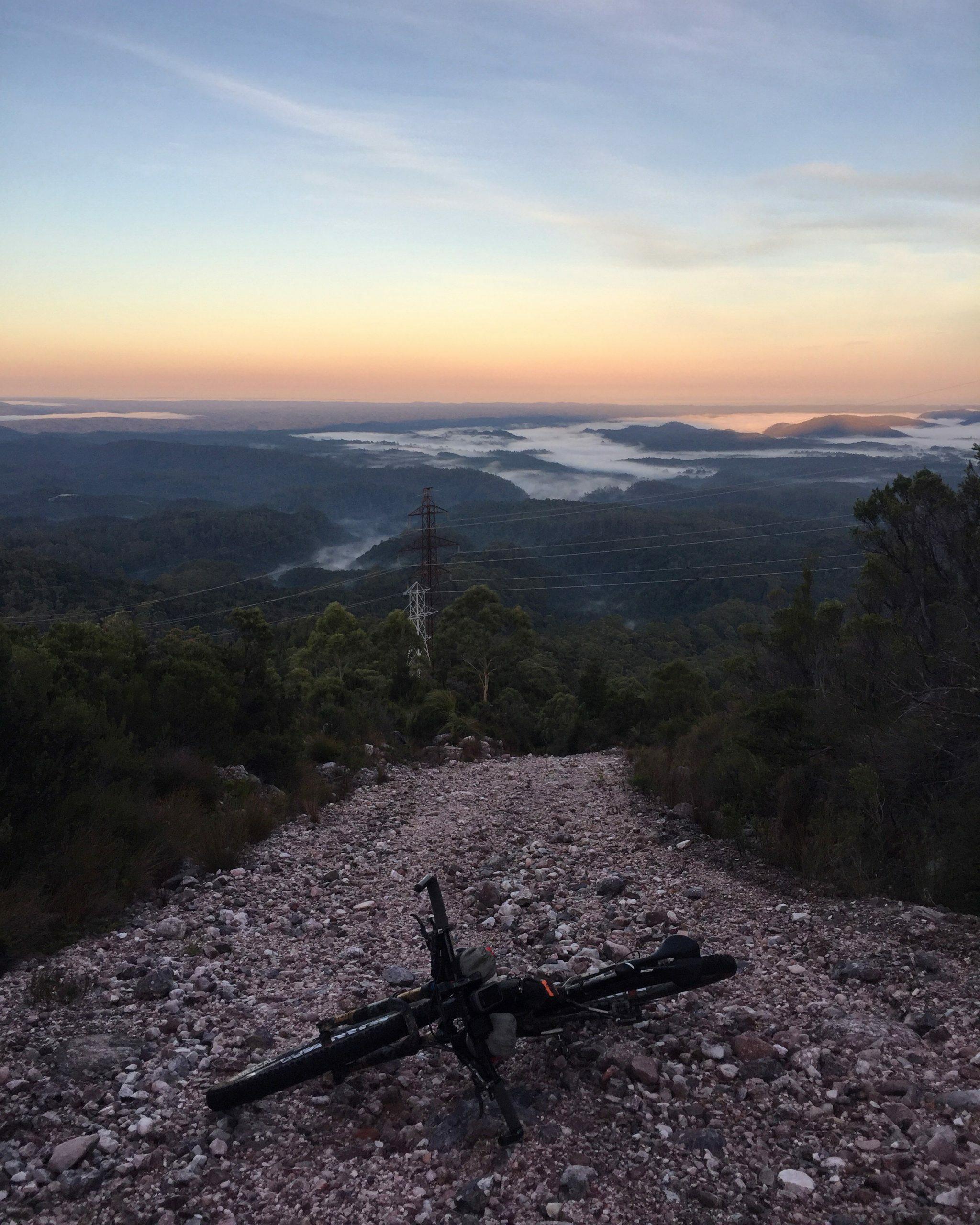 Hike a bike photo from Emma Flukes, somewhere in Tasmania