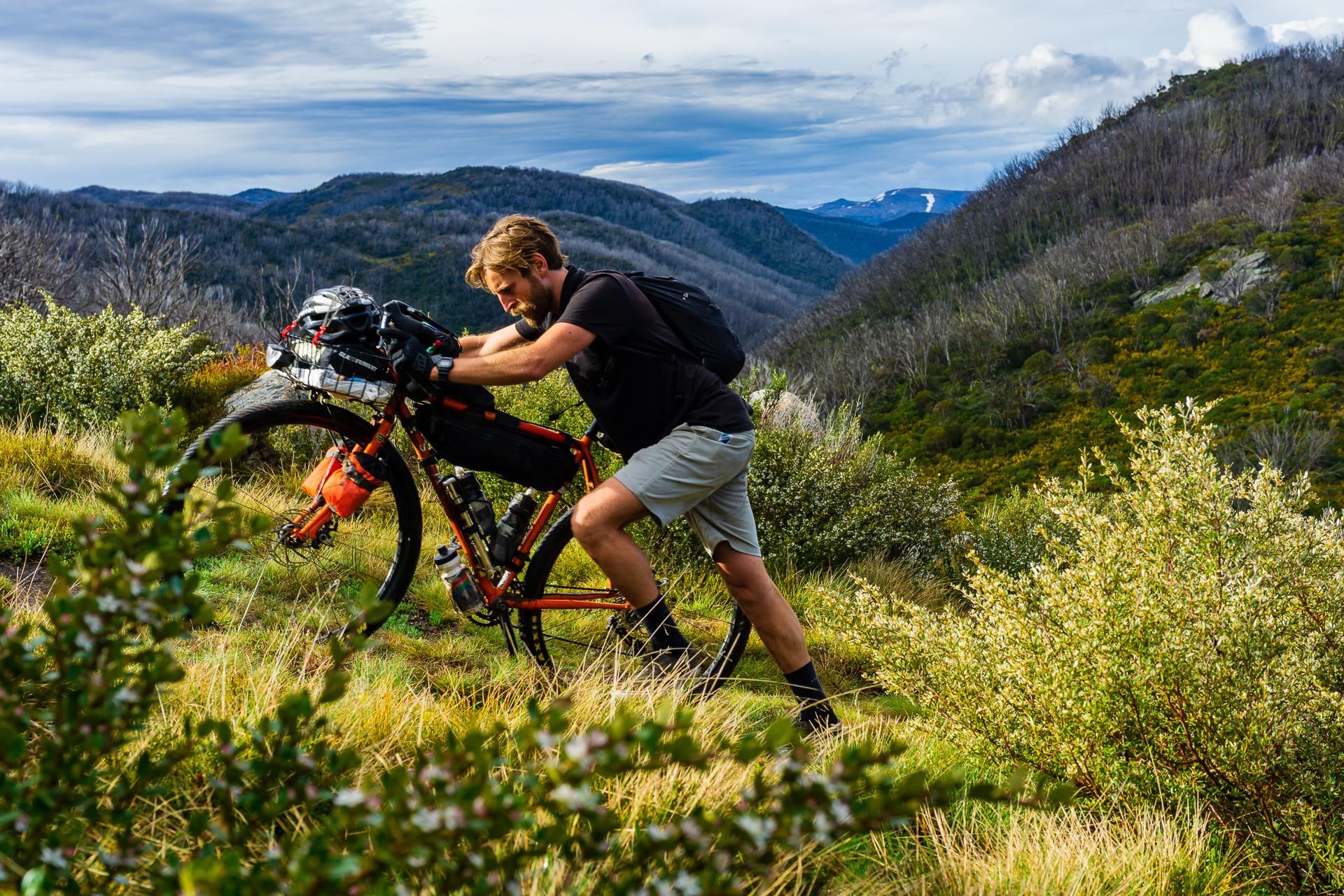Hike a bike photo from @endless_cycle taken in the Jagungal Wilderness during the Hunt 1000