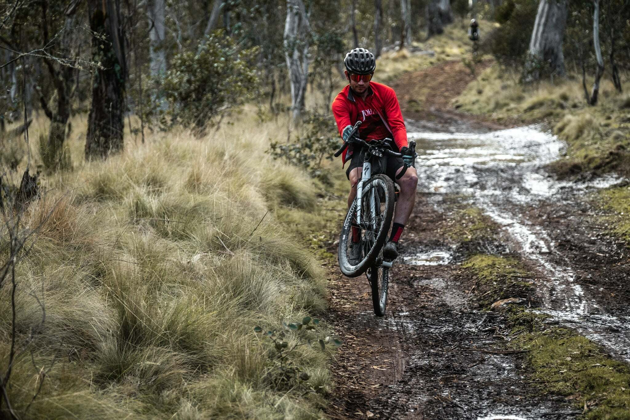 How to wheelie on a gravel bike