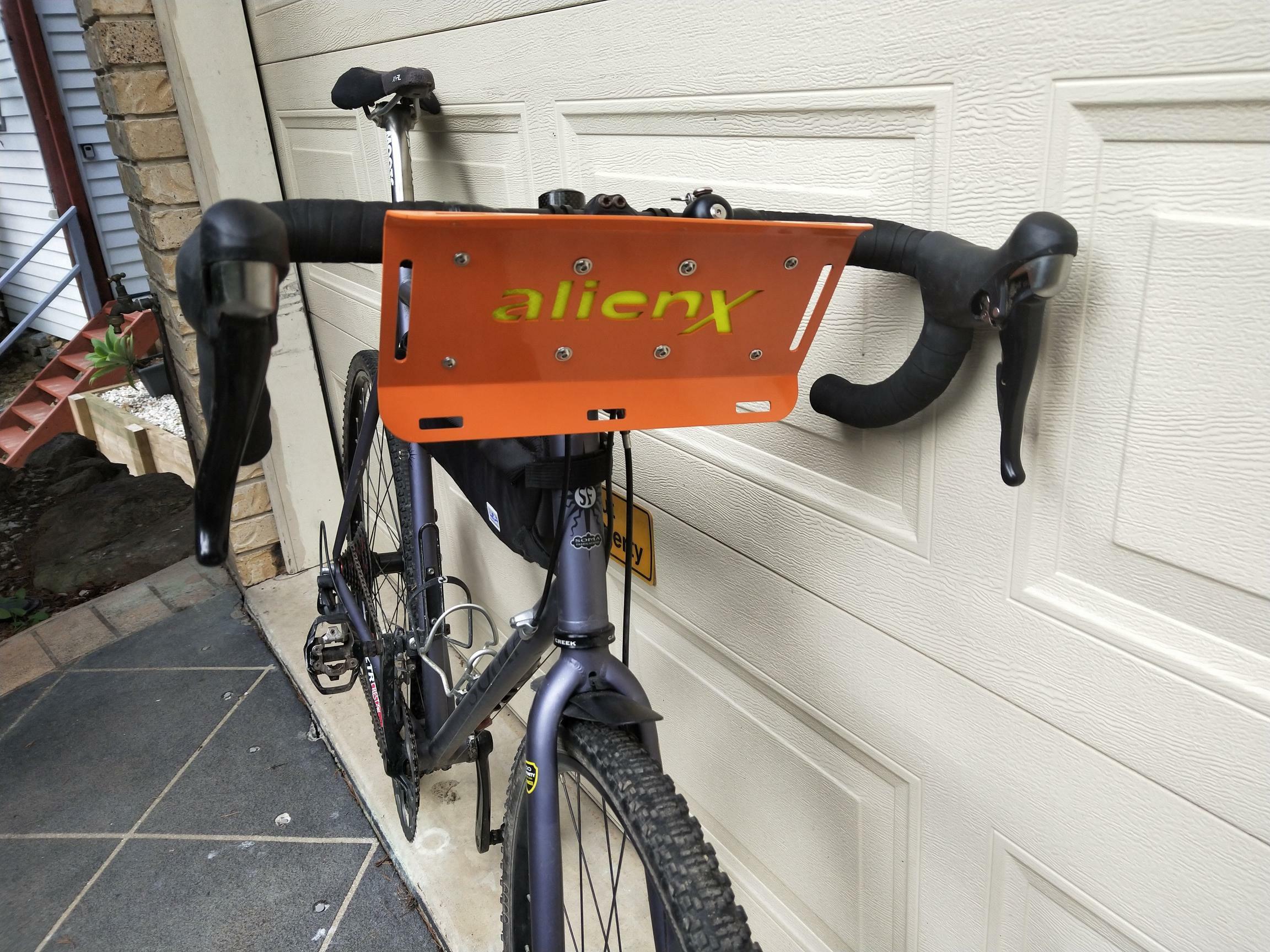 Alien X Bikepacking bar cradle