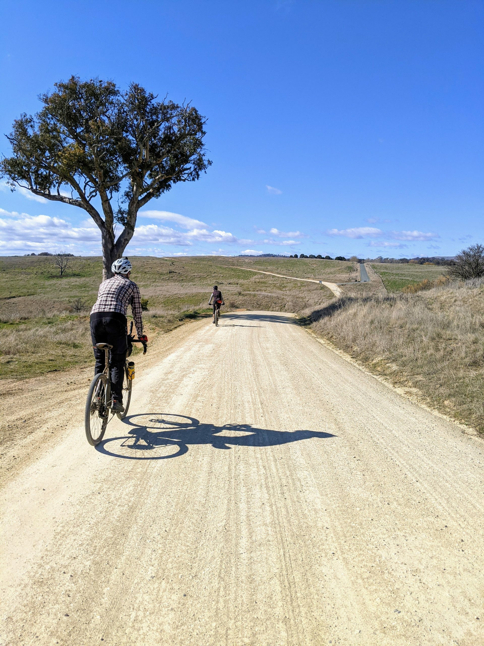 Gravel roads between Canberra and Murrumbateman on the Tasty 90
